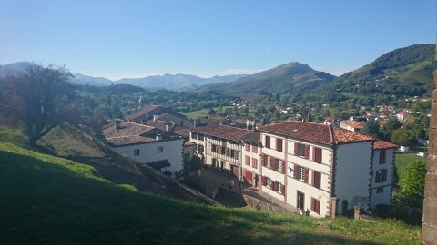 Both photos: St Jean Pied de Port, France — the start of the Camino Frances into Spain.