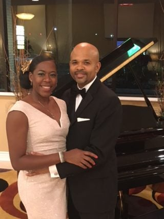 Al and Lesia at a fundraising gala. (Photo courtesy of Al Riddick)