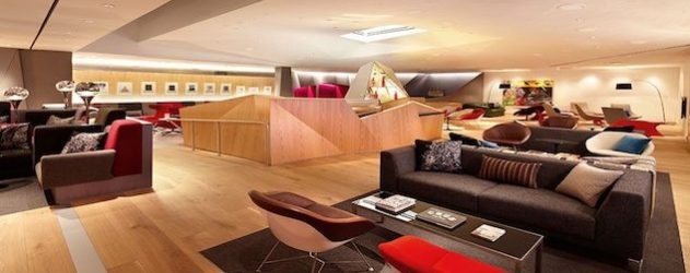 Virgin Atlantic Clubhouse at Newark Liberty International Airport