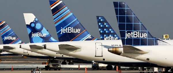 JetBlue Airline Tails