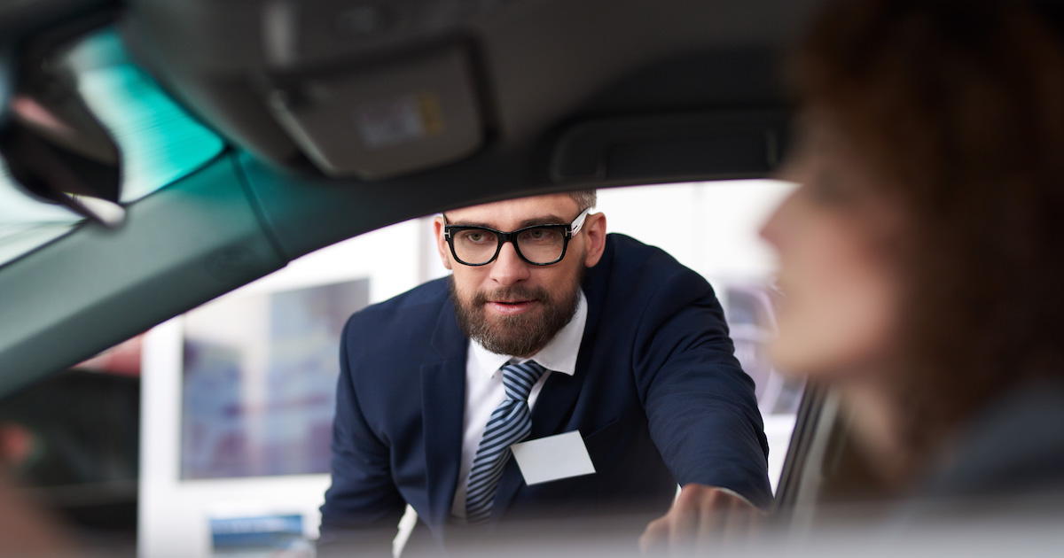 don t be afraid to test drive your car salesperson nerdwallet