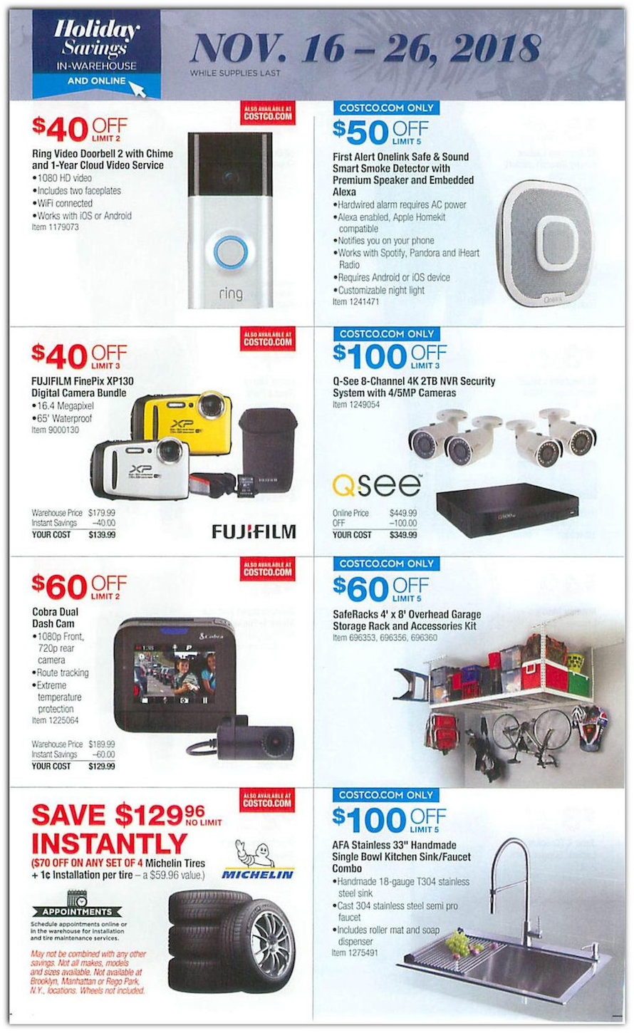 COSTCO ONLINE DEALS