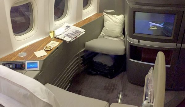 Admirable Flight Review Cathay Pacific First Class L A To Hong Kong Dailytribune Chair Design For Home Dailytribuneorg
