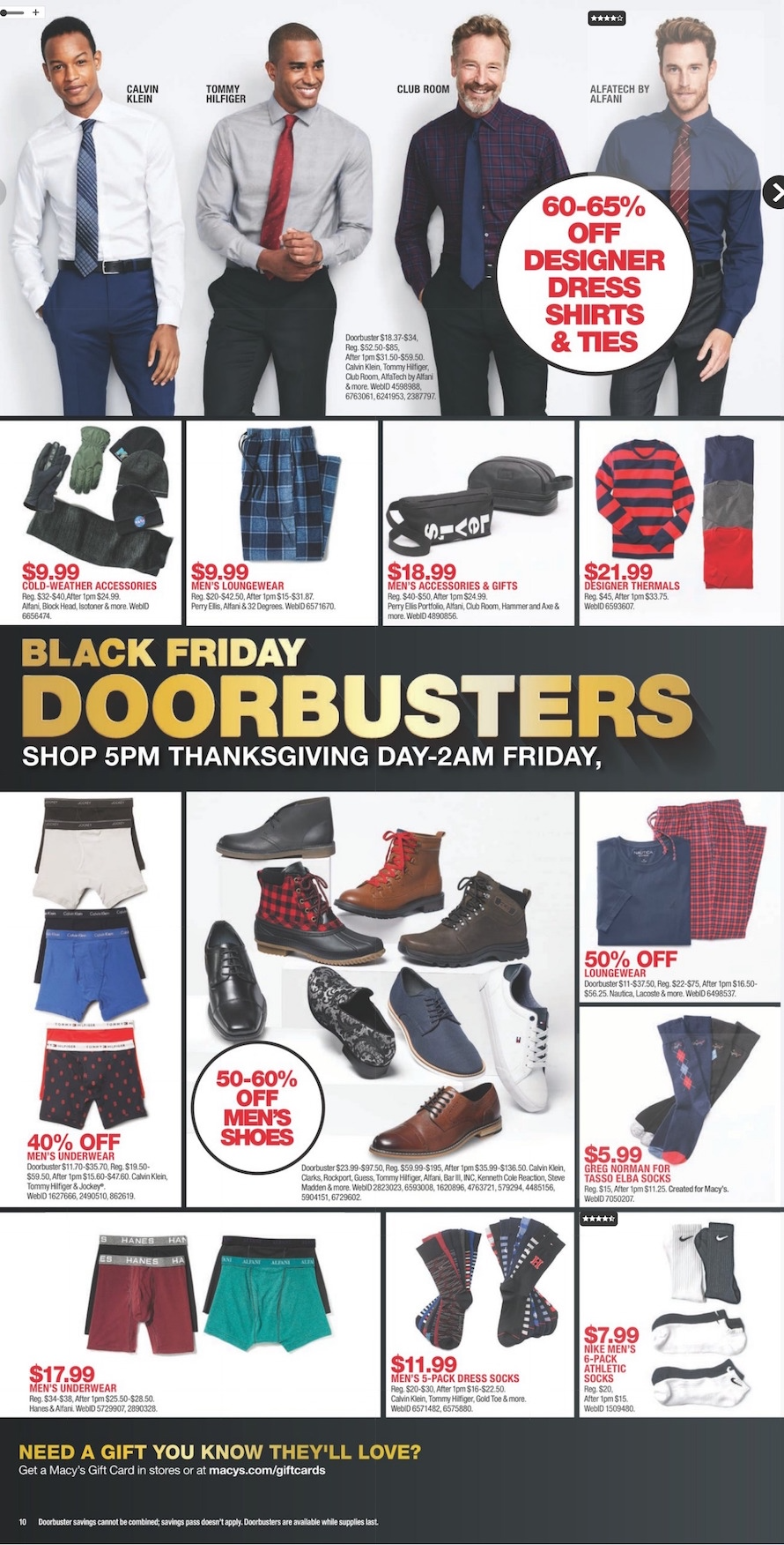 33301dc5bf1 Macy's Black Friday 2018 Ad, Deals and Store Hours - NerdWallet