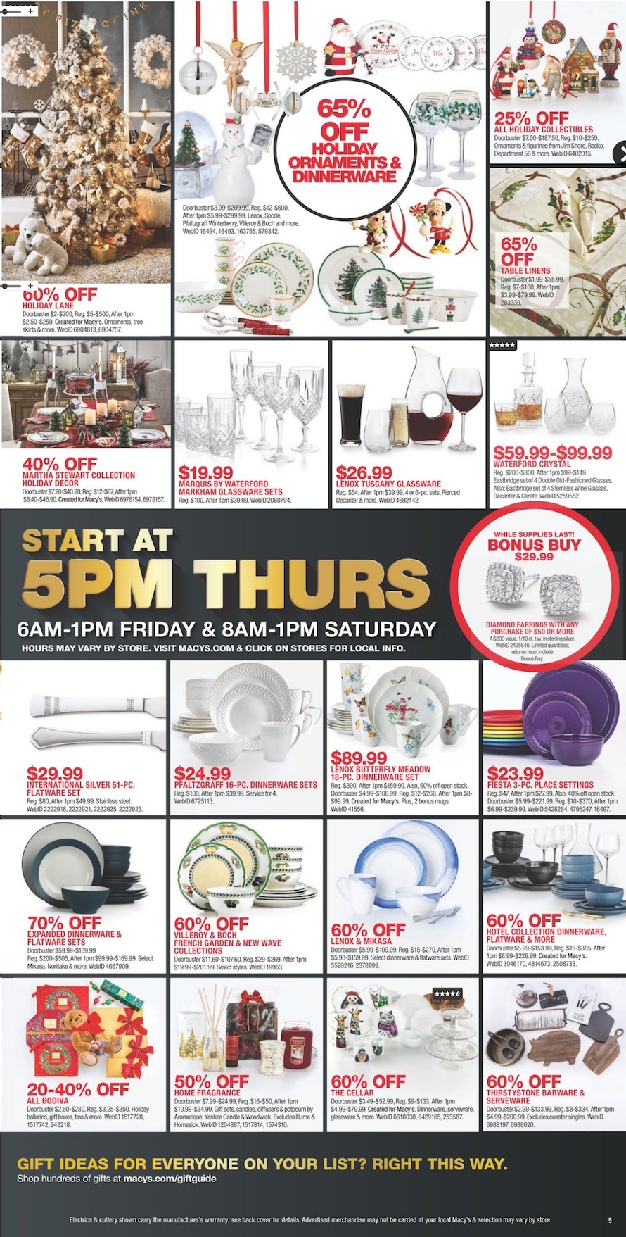 8f950c59 Macy's Black Friday 2018 Ad, Deals and Store Hours - NerdWallet