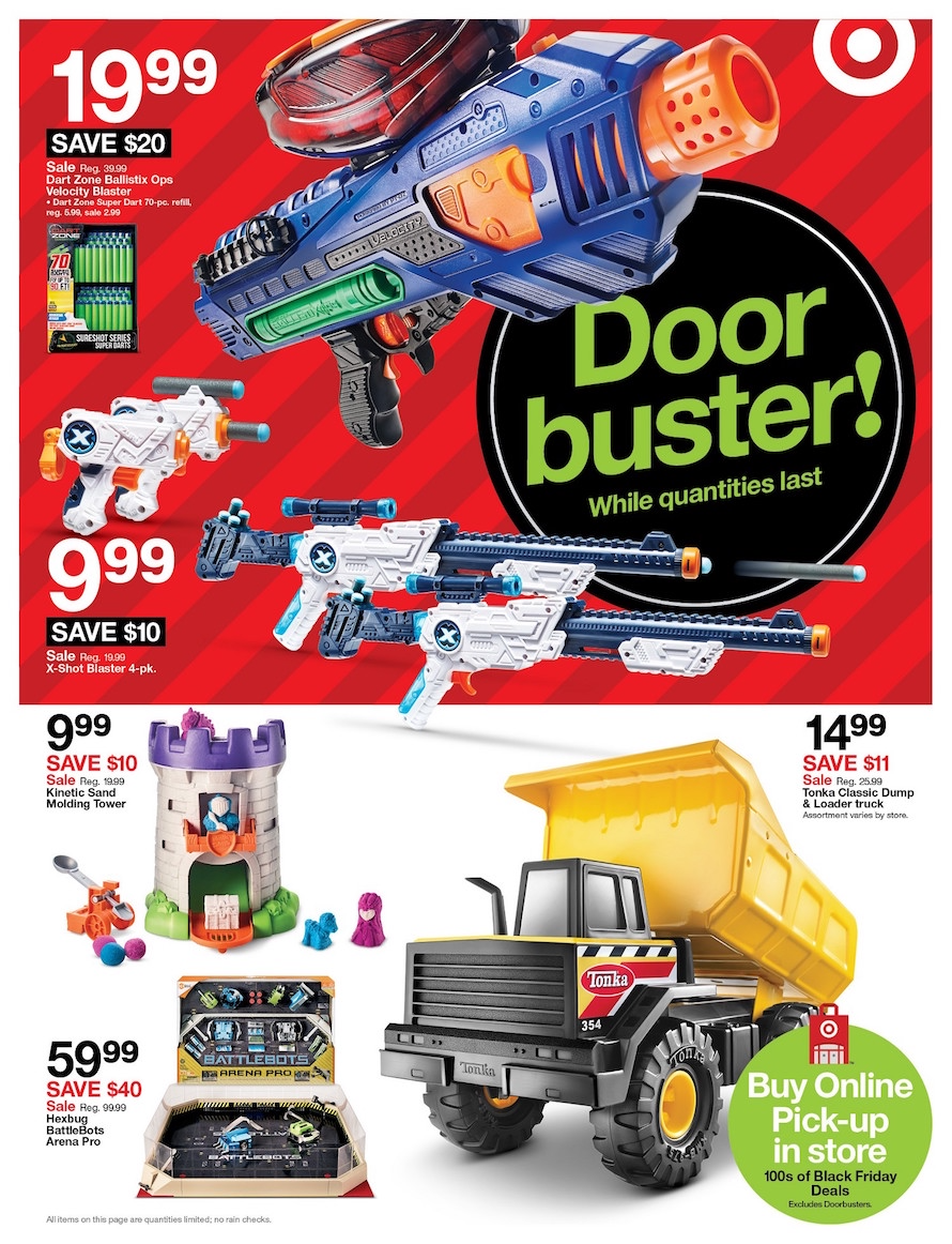 Target Black Friday 2018 Ad Deals And Store Hours Nerdwallet