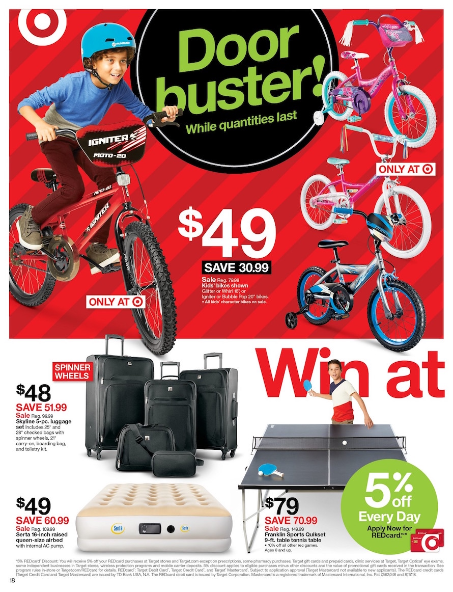 Target Black Friday 2018 Ad Deals And Store Hours