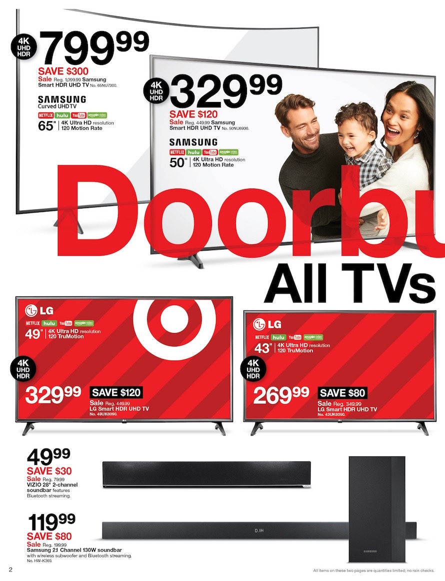 35bf25e3e Target Black Friday 2018 Ad, Deals and Store Hours - NerdWallet