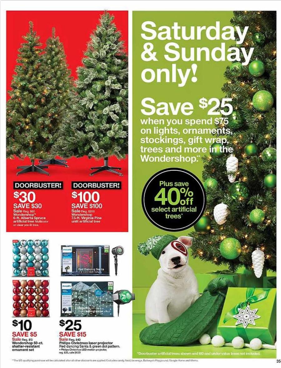 Target Christmas Commercial 2018.Target Black Friday 2018 Ad Deals And Store Hours Nerdwallet