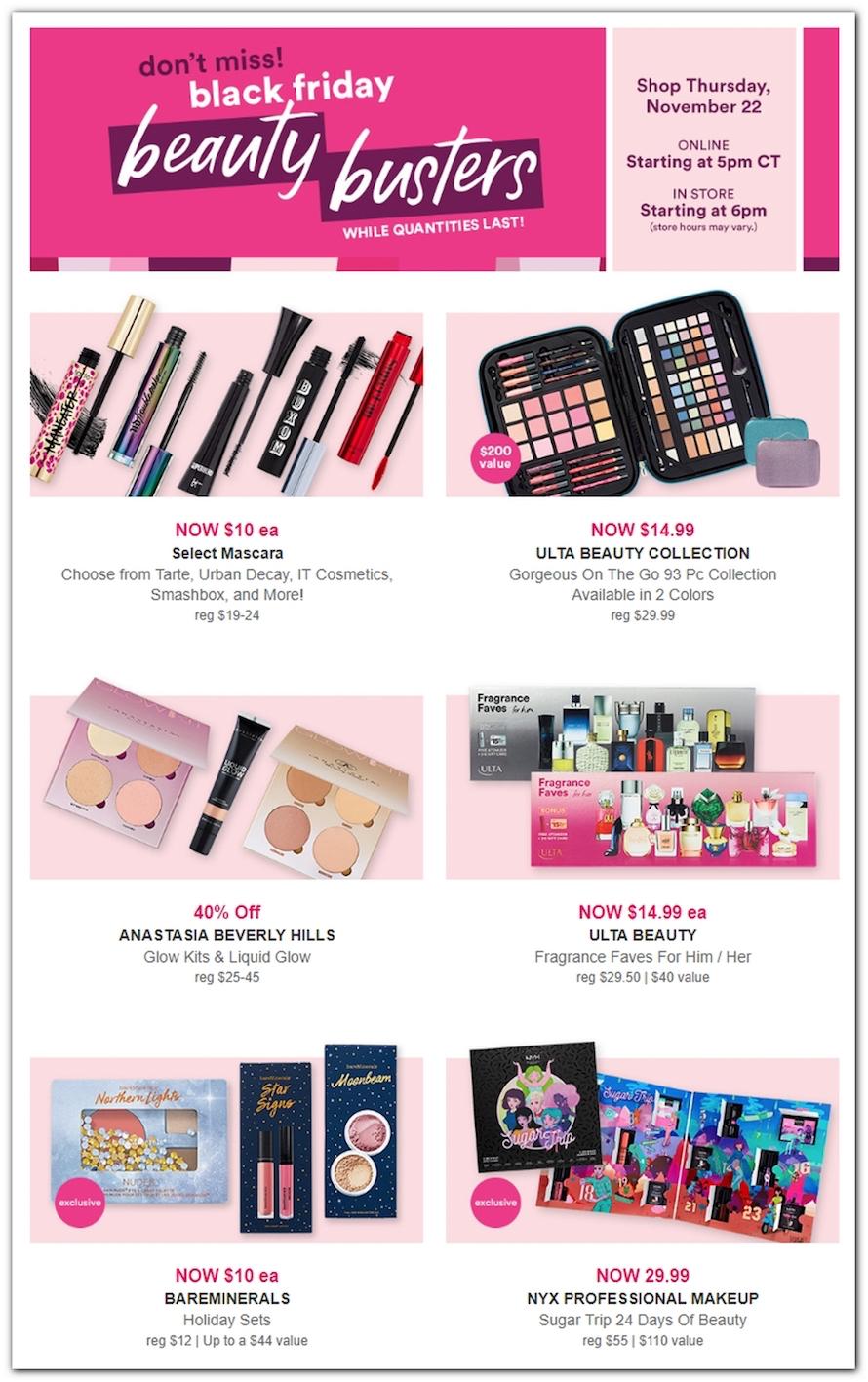 Ulta Black Friday 2018 Ad, Deals and Store Hours - NerdWallet