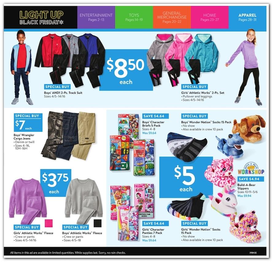 ddb8af66e8fe Walmart Black Friday 2018 Ad