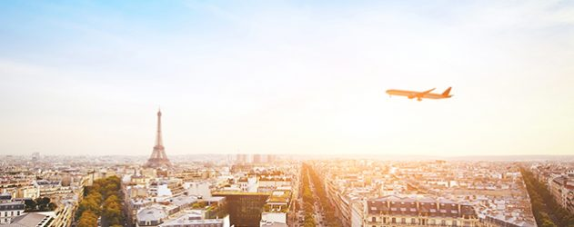 How I Flew Free: Flying Into London and Out of Paris Using