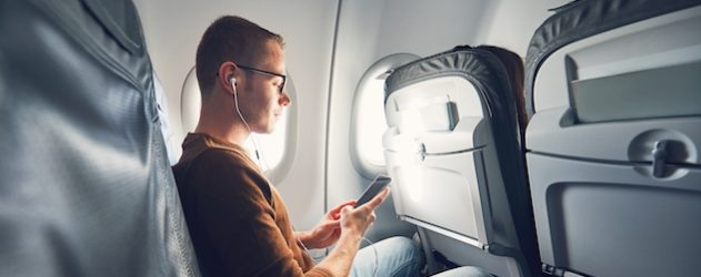 How to Send and Receive Text Messages on a Flight - NerdWallet