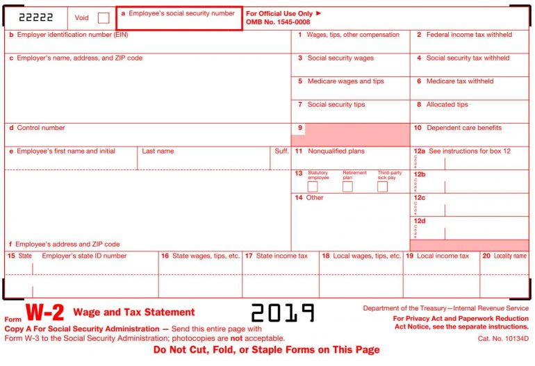 w2 form 2018  Form W-13: How to Read It, Use It and Get One in 13019-130130 ...