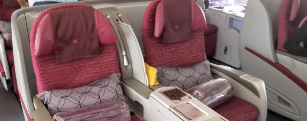 Flight Review Qatar Airways Business Class Doha To Casablanca
