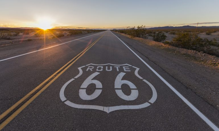 Get your kicks (and use your points) on Route 66