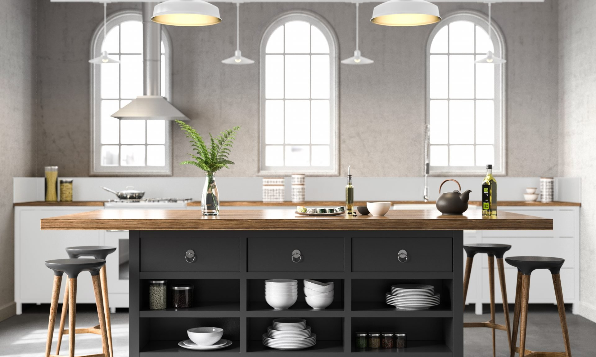 10 Countertop Materials to Make Your Kitchen Pop wood