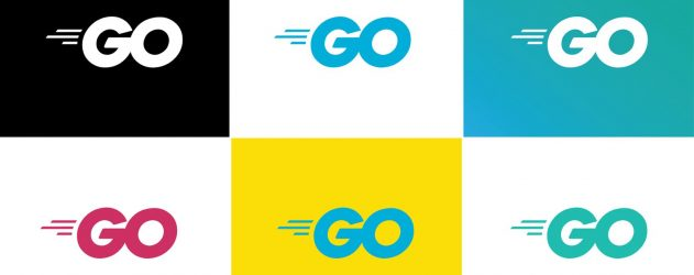 multiple golang logos
