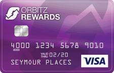 Comenity Capital Bank Orbitz Prämien Visa Card Kreditkarte