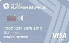 Pentagon Federal Credit Union Platinum Rewards Visa Signature Credit Card