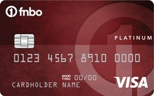First National Bank Platinum Edition® Visa® Card
