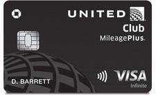 Chase United MileagePlus(R) Club Card Credit Card