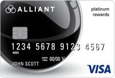 Alliant Credit Union Platinum Rewards Visa Credit Card