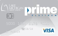 Lake Michigan Credit Union Prime Platinum Card