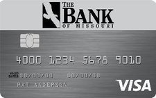 The Bank of Missouri Platinum Visa® Credit Card