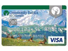 Community Banks of Colorado Platinum Visa® Credit Card