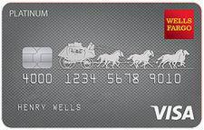 Wells Fargo Visa Platinum Card Credit Card