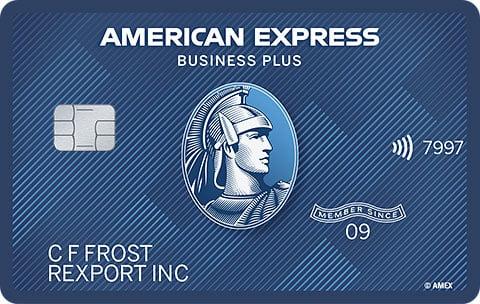 Tarjeta de crédito American Express The Blue for Business®