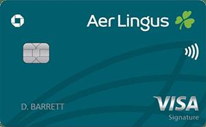 Tarjeta Aer Lingus Visa Signature®