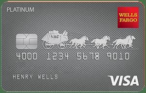 Wells Fargo Visa Platinum Card Credit Card