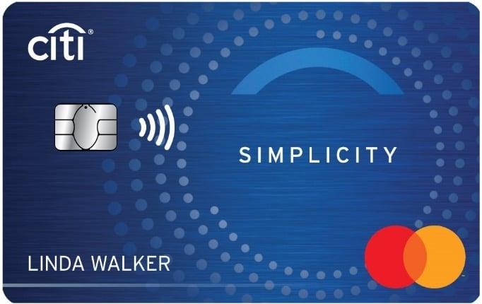 Citibank Simplicity Credit Card