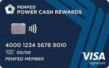 Pentagon Federal Credit Union Power Cash Rewards Visa Signature® Credit Card