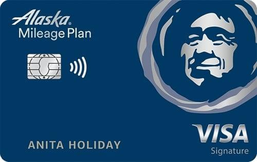 Bank of America Alaska Airlines Visa Signature®  Credit Card