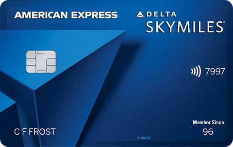 """Blue Delta SkyMiles® Credit Card from American Express"""""""