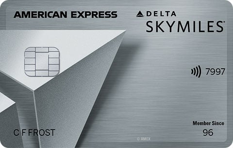 Delta SkyMiles American Express Platinum Credit Card
