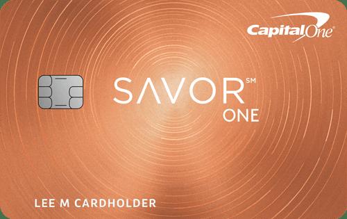 Capital One® SavorOneSM Cash Rewards Credit Card