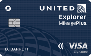 Chase United Airlines Mileage Plus Credit Card