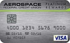 Aerospace Federal Credit Union Platinum Rewards Credit Card