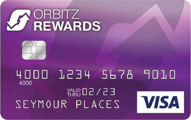 Comenity Capital Bank Orbitz Rewards Visa Card Credit Card