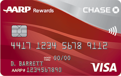 Chase AARP Rewards Platinum Visa Credit Card