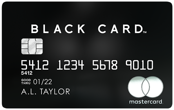 Luxury Card™ Mastercard® Black Card™