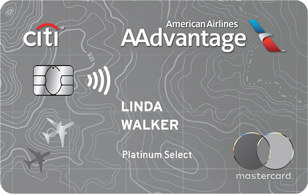 Citibank AAdvantage Platinum Select MasterCard Credit Card
