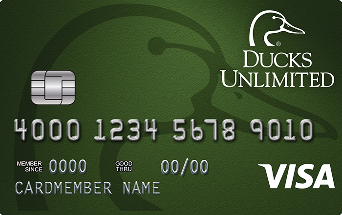 Ducks Unlimited Rewards Platinum Edition® Visa® Card