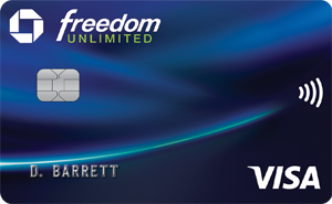 Chase Freedom Unlimited Credit Card