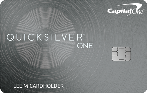 Capital One QuicksilverOne Credit Card