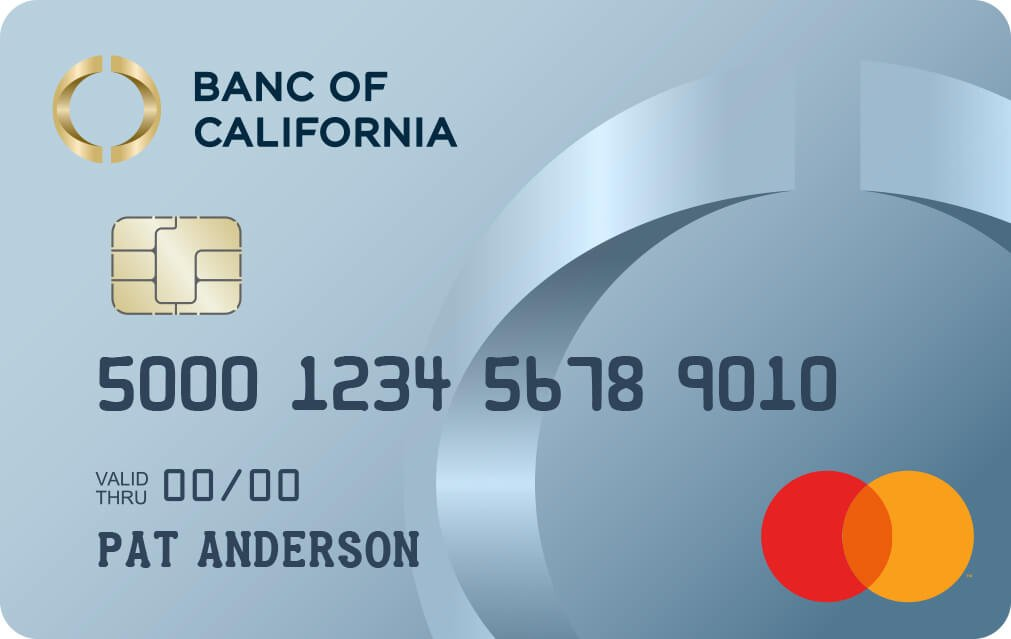 Banc of California Mastercard® Platinum Card